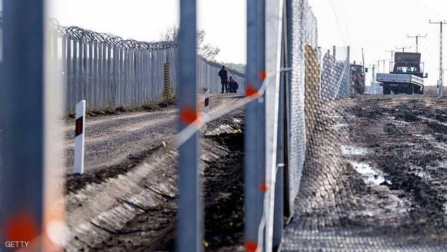 جدار المجر
