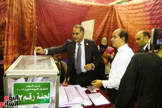 انتخابات الهيئة العليا لحزب الوفد (7)