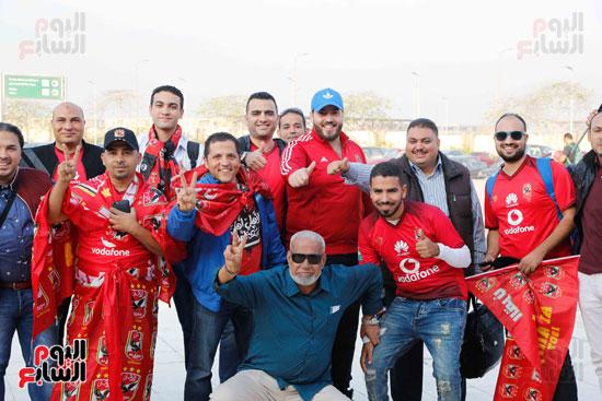 مغادرة الجمهور المصرى لتونس (4)