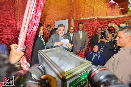 انتخابات الهيئة العليا لحزب الوفد (11)
