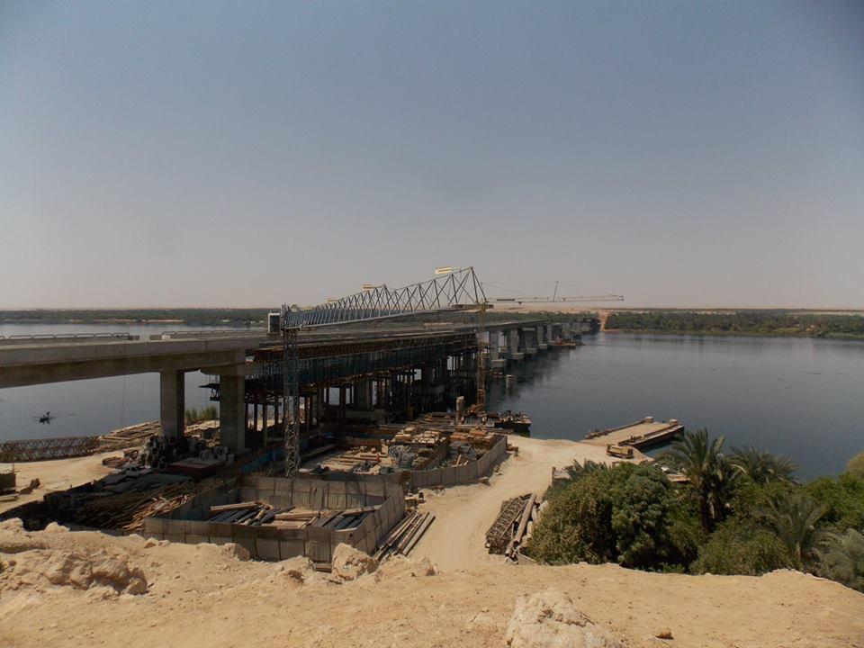 المحاور الكبري التي سيتم إنشائها علي النيل بأسوان