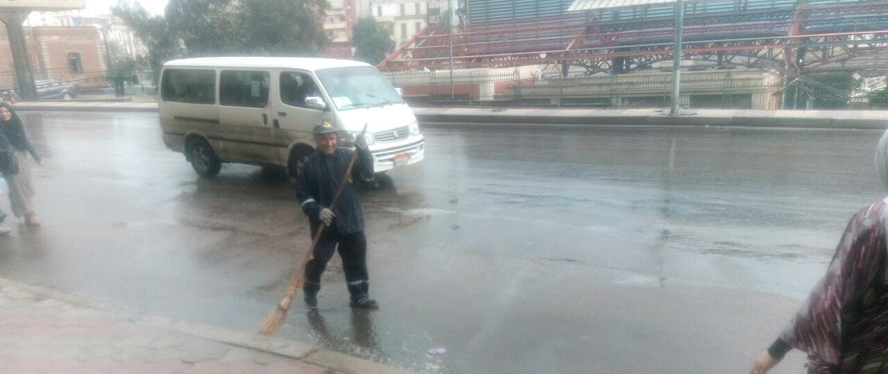 أمطار رعدية غزيرة فى مناطق متفرقة بالاسكندرية  (2)