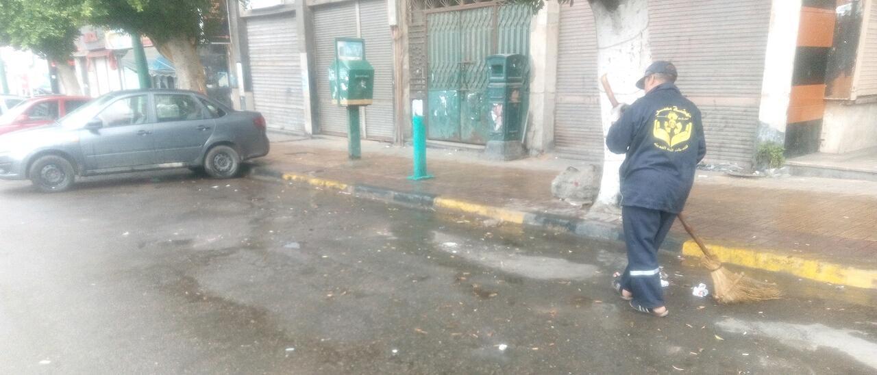أمطار رعدية غزيرة فى مناطق متفرقة بالاسكندرية  (4)