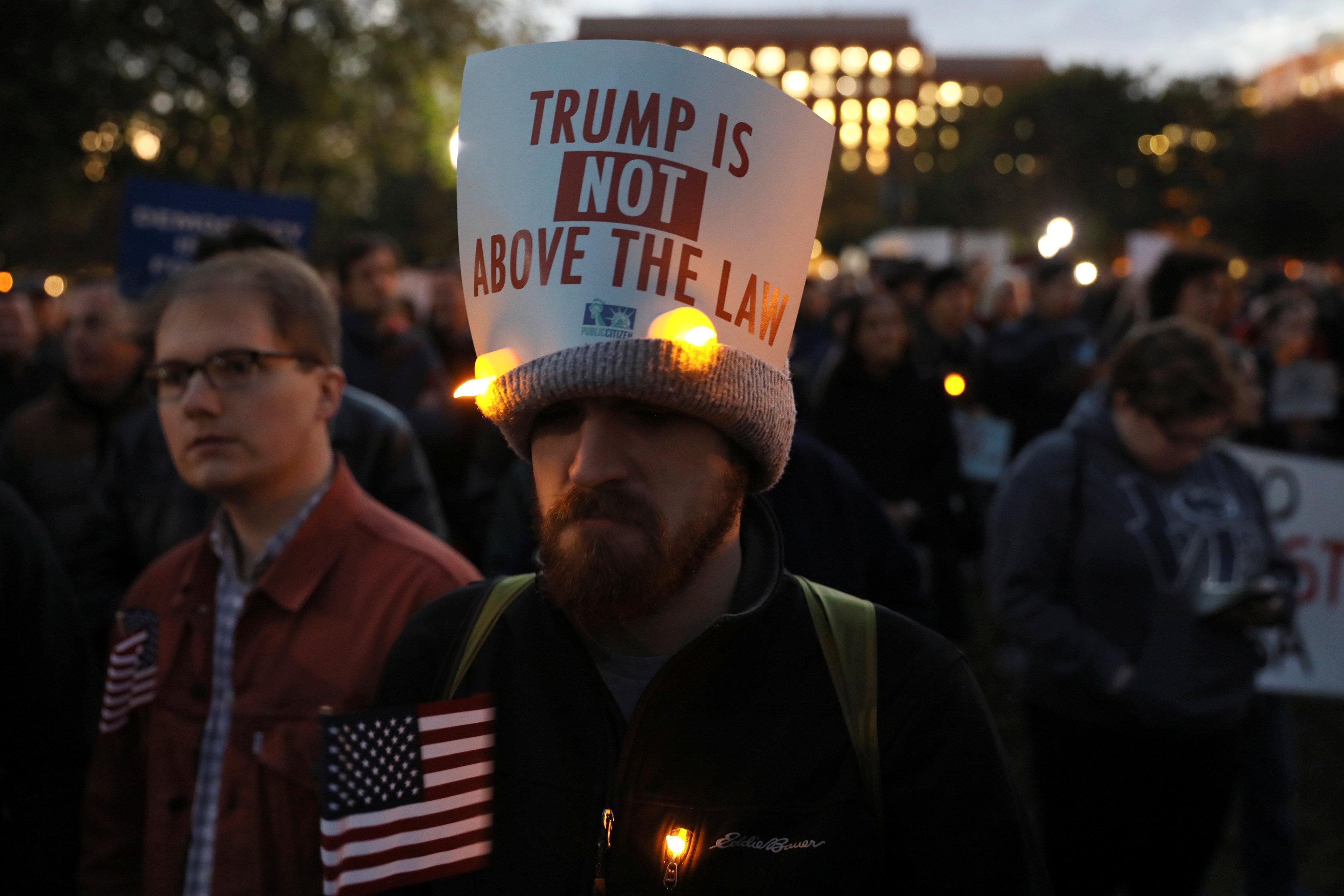 مظاهرات فى أمريكا