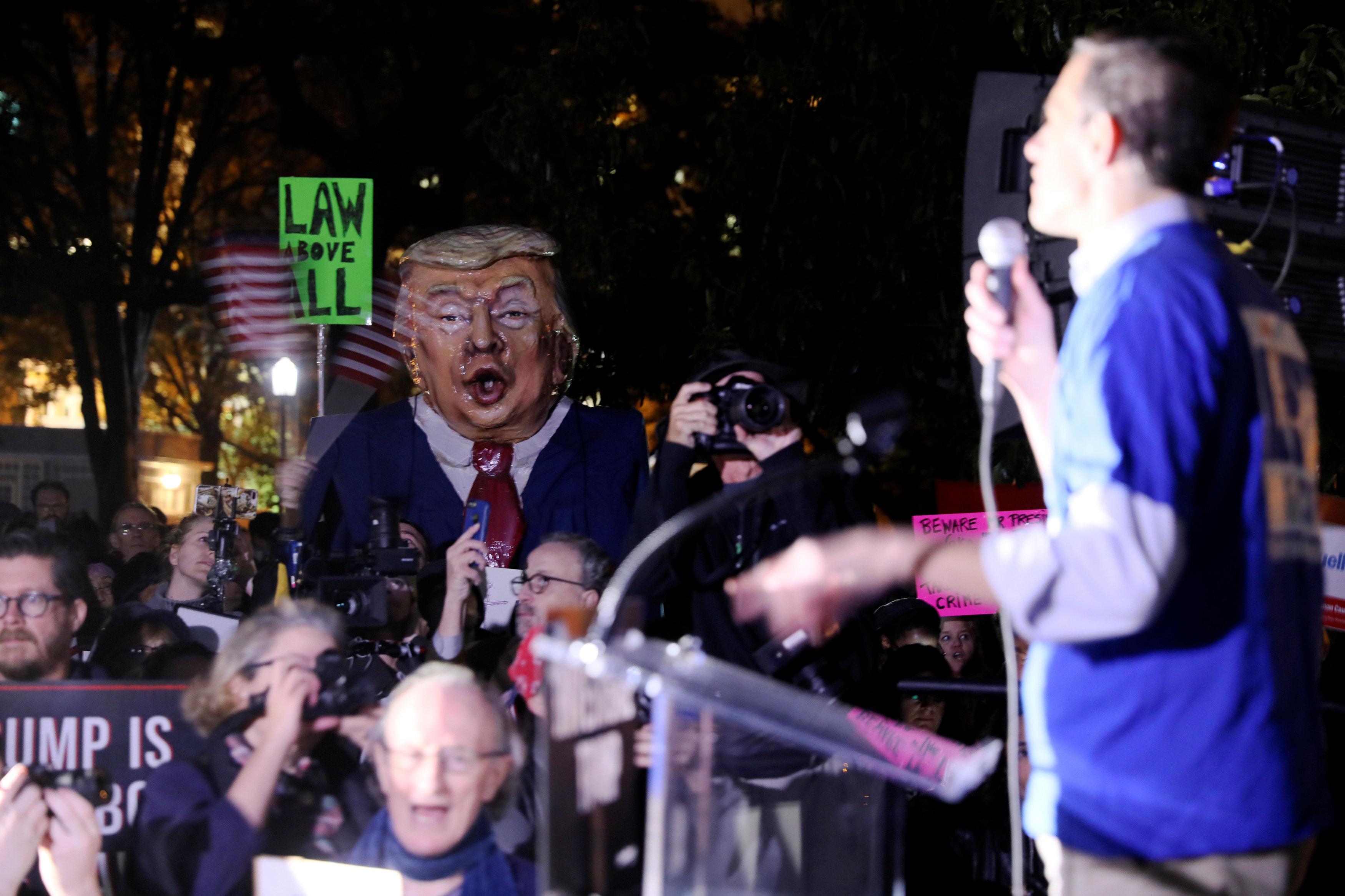 فعاليات منددة ضد ترامب