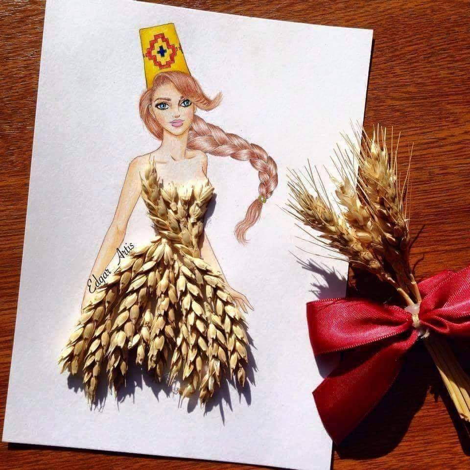 فستان القمح