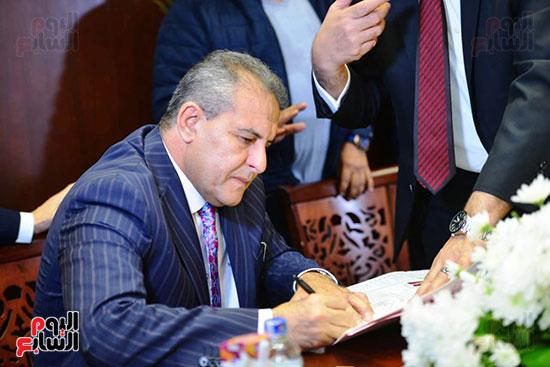 عقد قران رجل الأعمال إسلام خالد ومريم قورة (5)