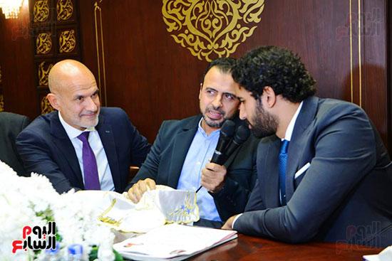 عقد قران رجل الأعمال إسلام خالد ومريم قورة (3)