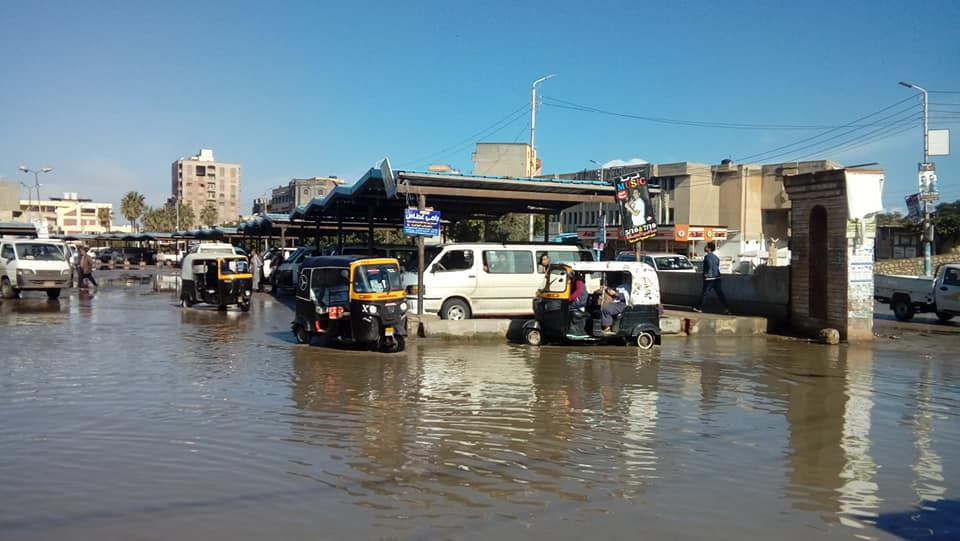 3- جانب من الامطار بكفر الشيخ