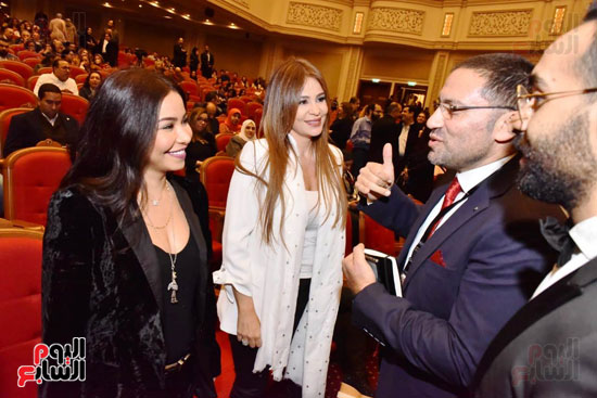 زياد رحبانى يتألق فى أقوى حفلاته بالقاهرة بحضور نجوم الفن (12)