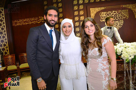 عقد قران رجل الأعمال إسلام خالد ومريم قورة (8)