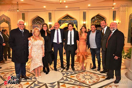 عقد قران رجل الأعمال إسلام خالد ومريم قورة (9)