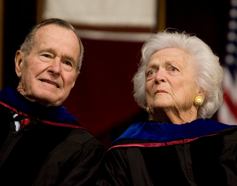 جورج بوش الأب  الرئيس الأمريكى الأسبق  (3)
