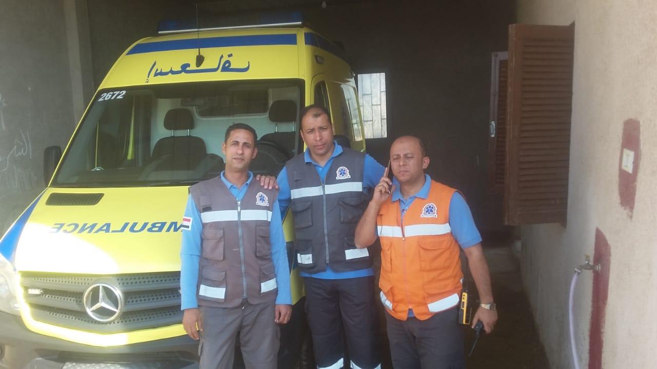 افتتاح وحدة إسعاف جرزا  (3)