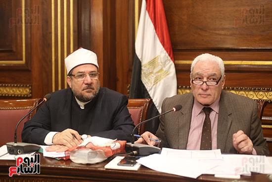 صور لجنة الشئون الدينية والأوقاف (1)