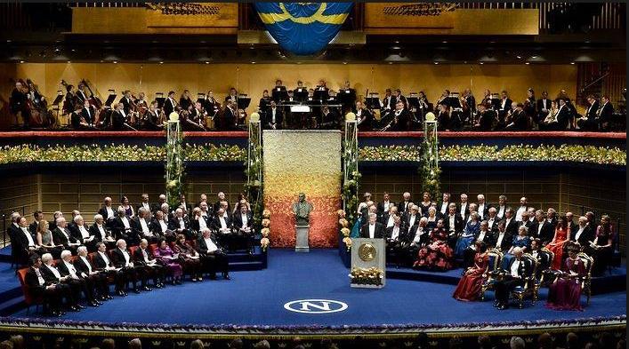 إحدى حفلات جوائز نوبل