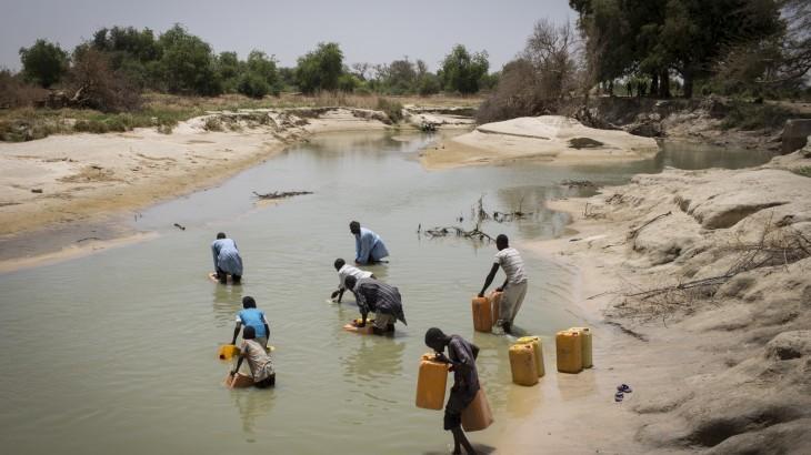بحيرة تشاد أزمة جديدة تهدد نيجيريا