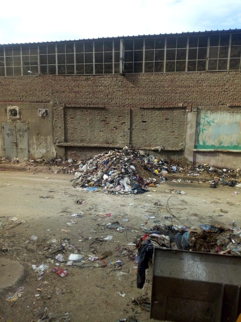 رفع القمامة من شارع عرابى بشبرا الخيمة (15)