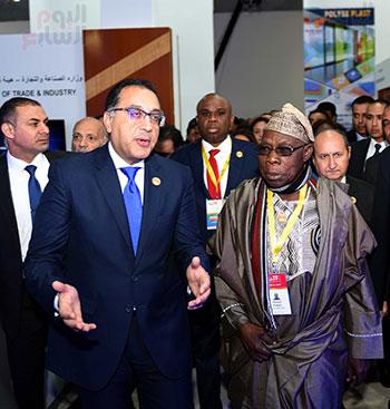 رئيس الوزراء يفتتح فعاليات المعرض الأفريقى الأول للتجارة البينية (36)
