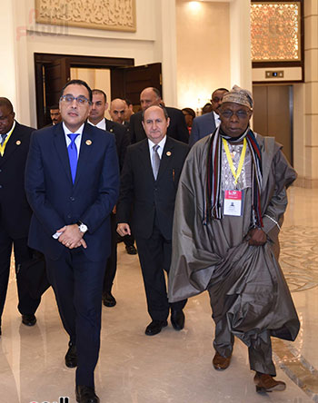رئيس الوزراء يفتتح فعاليات المعرض الأفريقى الأول للتجارة البينية (35)