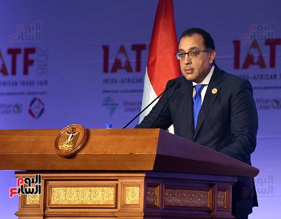 رئيس الوزراء يفتتح فعاليات المعرض الأفريقى الأول للتجارة البينية (21)