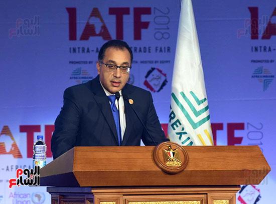 رئيس الوزراء يفتتح فعاليات المعرض الأفريقى الأول للتجارة البينية (20)