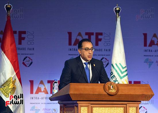 رئيس الوزراء يفتتح فعاليات المعرض الأفريقى الأول للتجارة البينية (19)