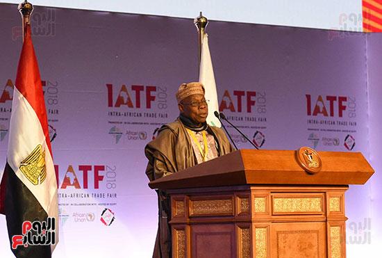 رئيس الوزراء يفتتح فعاليات المعرض الأفريقى الأول للتجارة البينية (14)