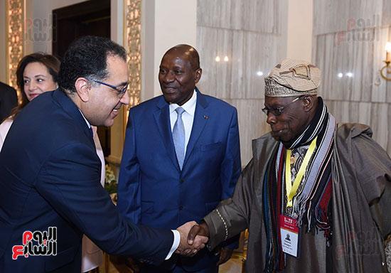 رئيس الوزراء يفتتح فعاليات المعرض الأفريقى الأول للتجارة البينية (2)