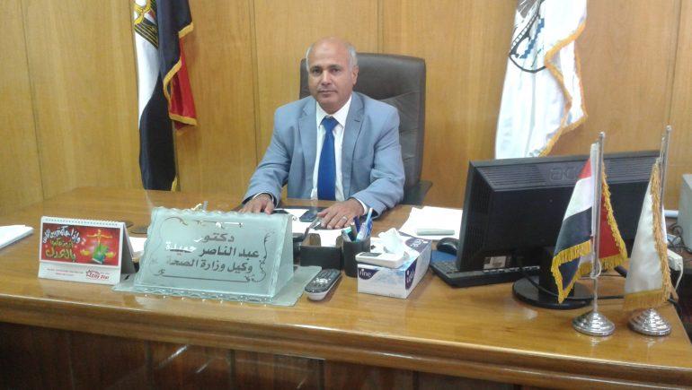 عبد الناصر حميدة وكيل وزارة الصحة بمحافظة بنى سويف
