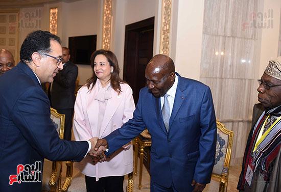 رئيس الوزراء يفتتح فعاليات المعرض الأفريقى الأول للتجارة البينية (1)