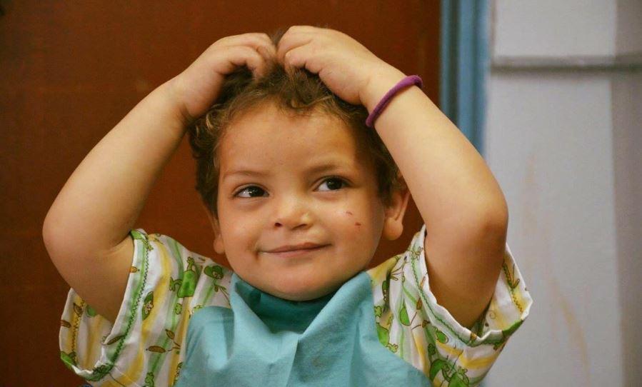 الطفل أحمد بهجت