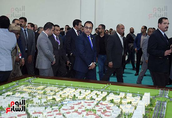 رئيس الوزراء يفتتح فعاليات المعرض الأفريقى الأول للتجارة البينية (27)