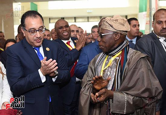 رئيس الوزراء يفتتح فعاليات المعرض الأفريقى الأول للتجارة البينية (26)