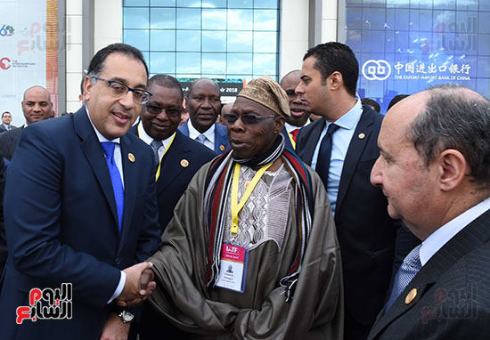 رئيس الوزراء يفتتح فعاليات المعرض الأفريقى الأول للتجارة البينية (32)
