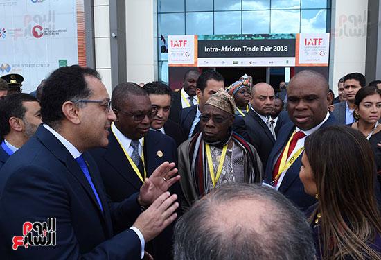 رئيس الوزراء يفتتح فعاليات المعرض الأفريقى الأول للتجارة البينية (31)