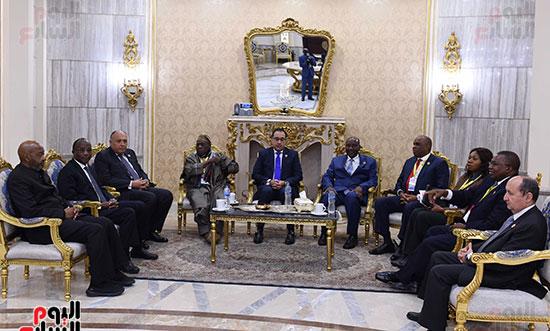 رئيس الوزراء يفتتح فعاليات المعرض الأفريقى الأول للتجارة البينية (5)