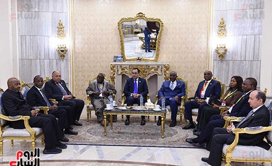 رئيس الوزراء يفتتح فعاليات المعرض الأفريقى الأول للتجارة البينية (6)