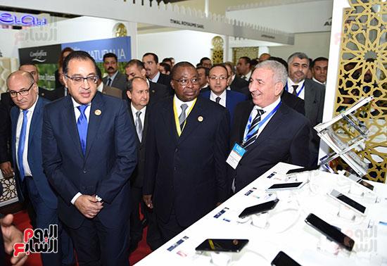 رئيس الوزراء يفتتح فعاليات المعرض الأفريقى الأول للتجارة البينية (29)