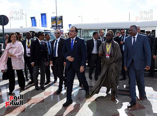رئيس الوزراء يفتتح فعاليات المعرض الأفريقى الأول للتجارة البينية (23)