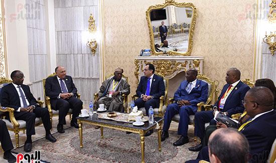 رئيس الوزراء يفتتح فعاليات المعرض الأفريقى الأول للتجارة البينية (7)