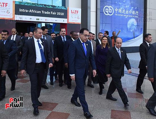 رئيس الوزراء يفتتح فعاليات المعرض الأفريقى الأول للتجارة البينية (30)