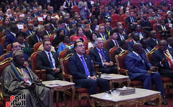 رئيس الوزراء يفتتح فعاليات المعرض الأفريقى الأول للتجارة البينية (13)