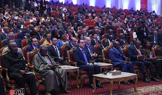 رئيس الوزراء يفتتح فعاليات المعرض الأفريقى الأول للتجارة البينية (11)