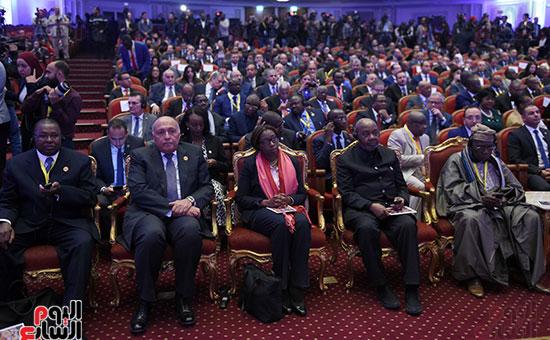رئيس الوزراء يفتتح فعاليات المعرض الأفريقى الأول للتجارة البينية (10)