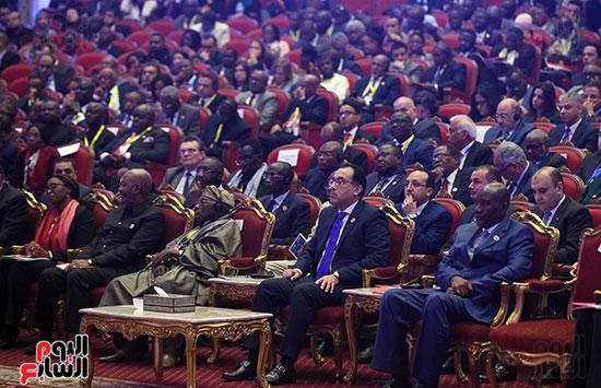 رئيس الوزراء يفتتح فعاليات المعرض الأفريقى الأول للتجارة البينية (18)