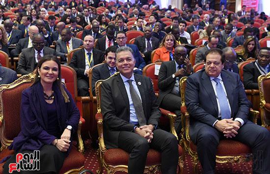رئيس الوزراء يفتتح فعاليات المعرض الأفريقى الأول للتجارة البينية (8)