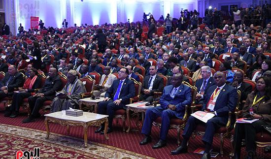 رئيس الوزراء يفتتح فعاليات المعرض الأفريقى الأول للتجارة البينية (17)
