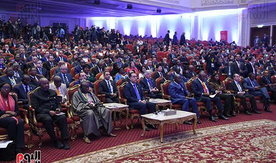 رئيس الوزراء يفتتح فعاليات المعرض الأفريقى الأول للتجارة البينية (12)