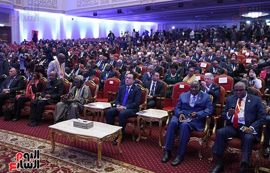 رئيس الوزراء يفتتح فعاليات المعرض الأفريقى الأول للتجارة البينية (9)